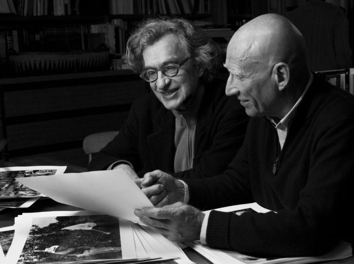 Wim Wenders and Sebastaio Salgado