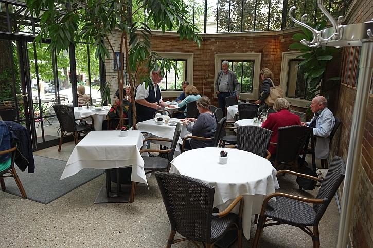 Wintergarden cafe conservatory