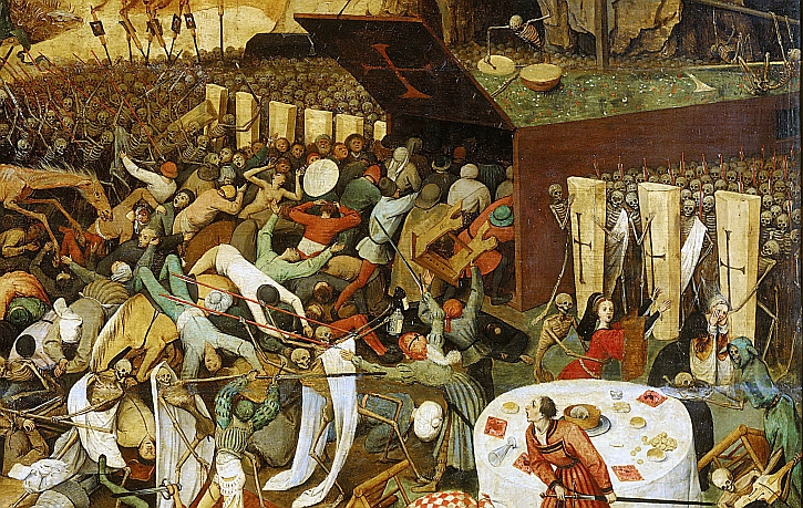 Brueguel, The Triumph of Death, 1562 (detail)