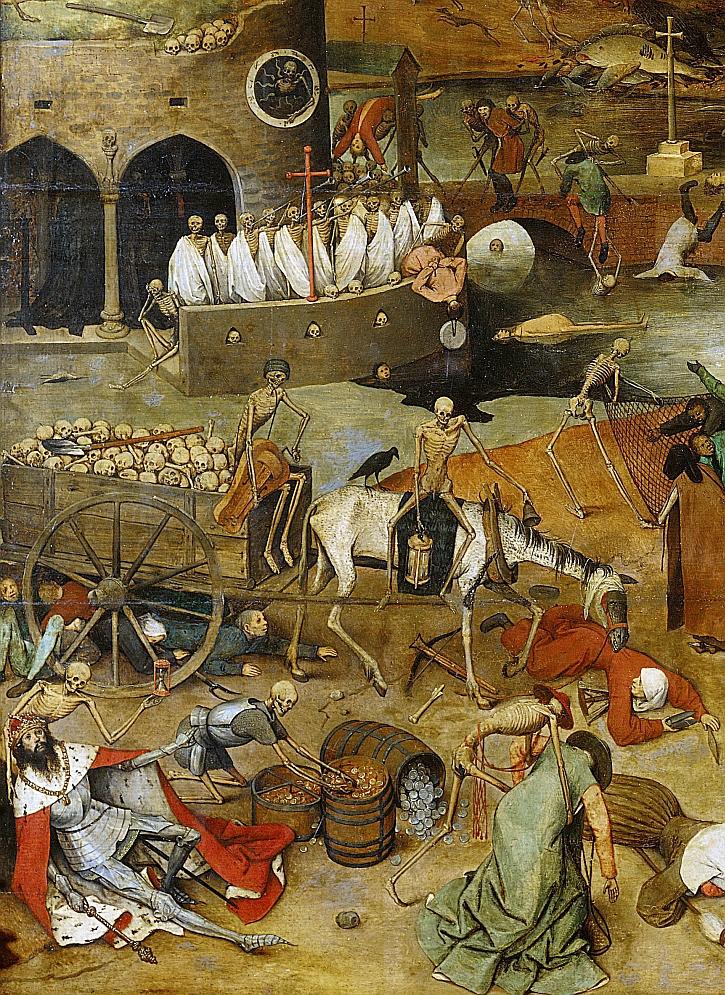 Brueguel, The Triumph of Death, 1562 (detail)