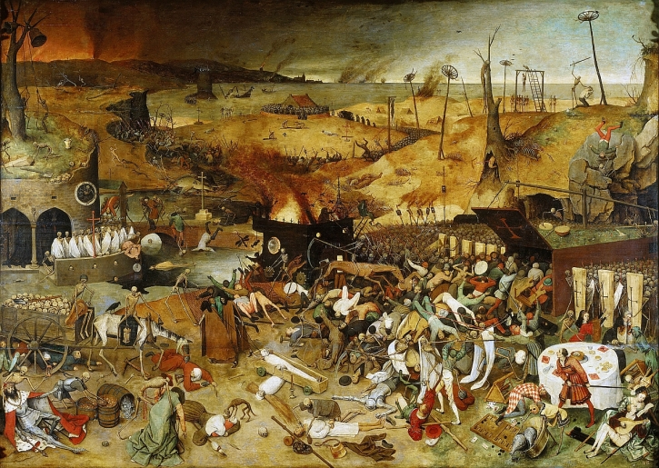 Brueguel, The Triumph of Death, 1562
