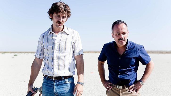 Javier Gutierrez and Raul Arevalo in Marshland