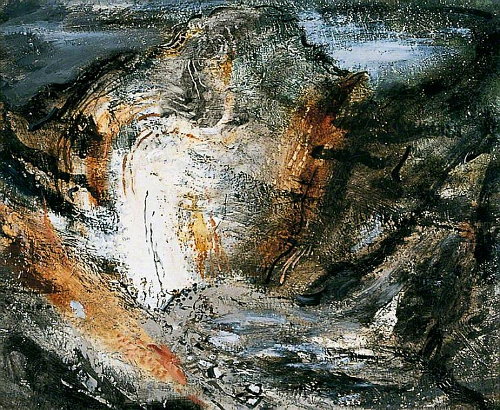 John Piper, Stair Hole, Lulworth, 1948