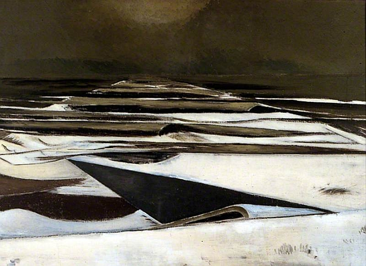 Paul Nash, Winter Sea, 1925-37