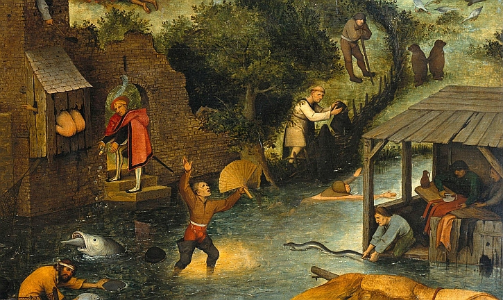 In Pursuit Of Bruegel Berlin And Two Monkeys In Chains