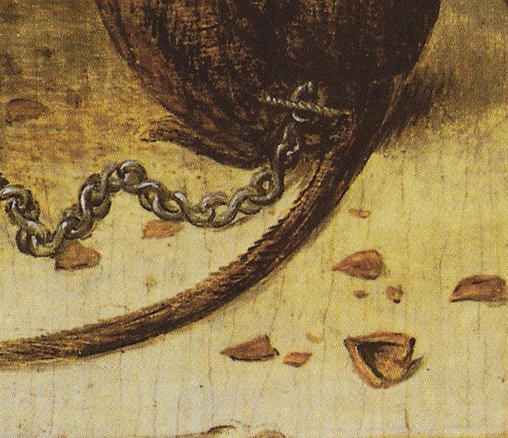 Pieter Bruegel, Two Monkeys,1562 (detail)