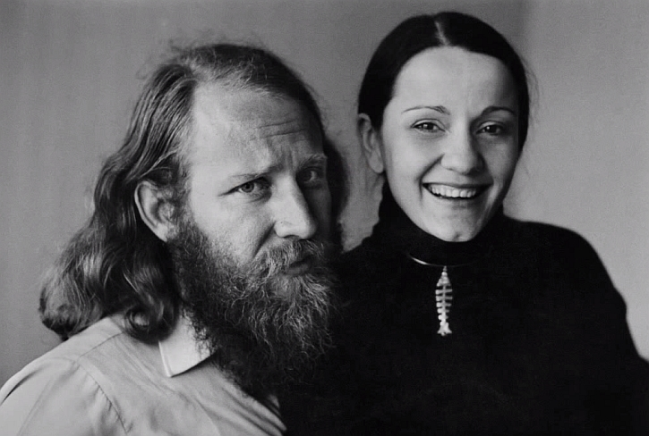Sebastaio and Leila Salgado 1970s