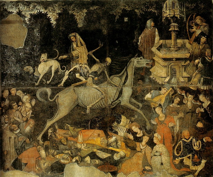 Unknown artist, The Triumph of Death, Palermo, c1446