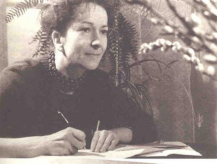 Wislawa Szymborska in 1961