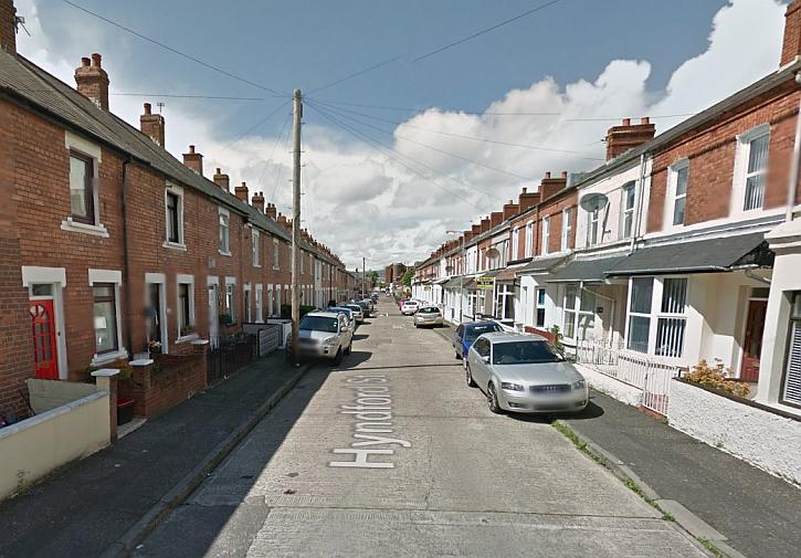 Van's home: 125 Hyndford Street, Belfast (as seen on Google Street View)