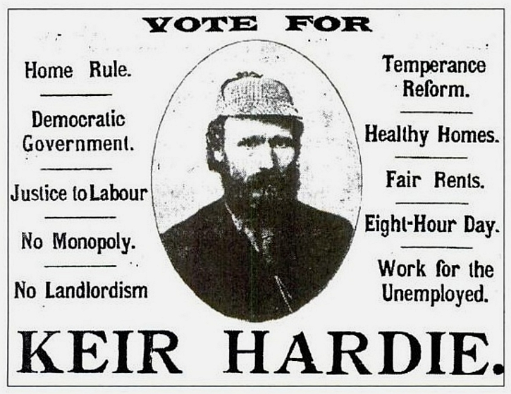 Hardie election poster