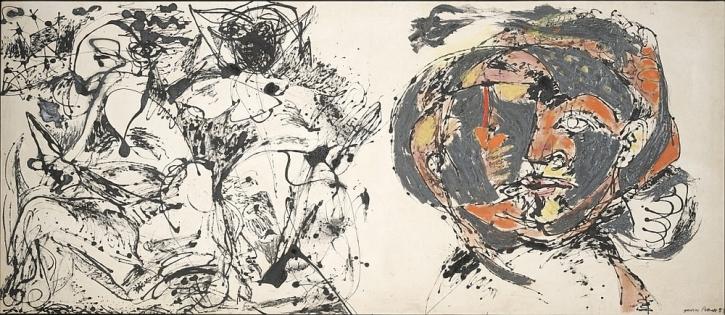Jackson Pollock, 1912-1956 Portrait and a Dream 1953
