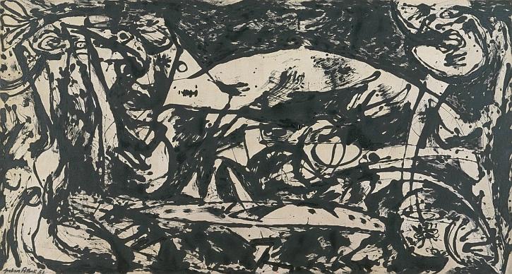 Jackson Pollock , Number 14, 1951