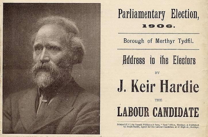 Keir Hardie election address 1906