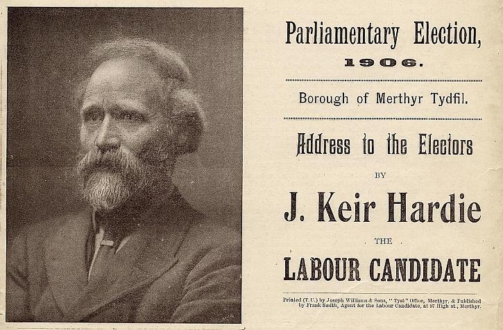 Keir Hardie election address 1906