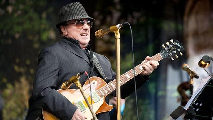 Van Morrison performing on Cyprus Avenue on his 70th birthday.