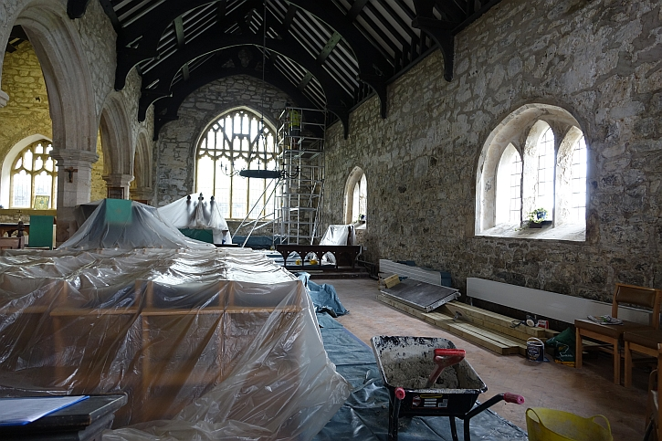 Aberdaron church