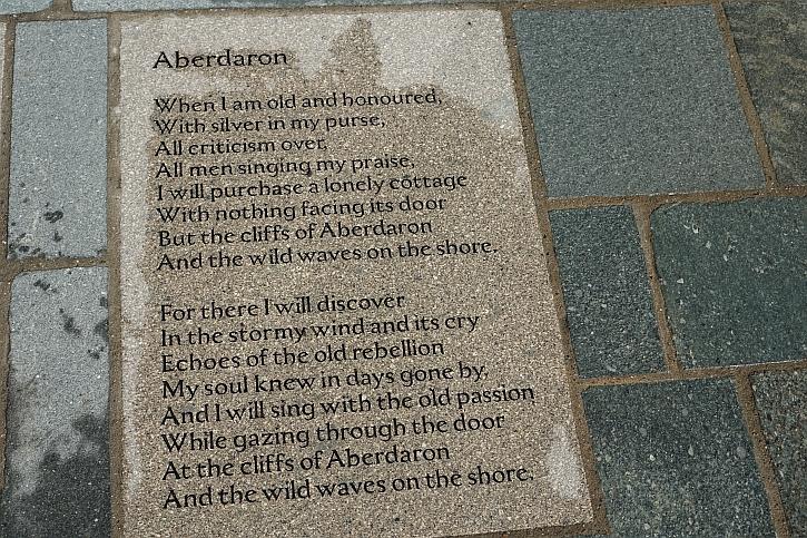 Cynan Evans-Jones' poem 'Aberdaron'
