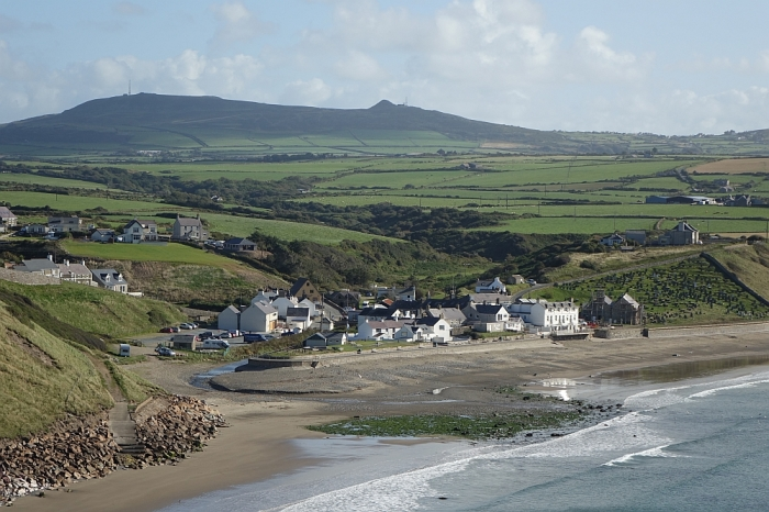 Porth y Swnt at Aberdaron: the poetry of a place