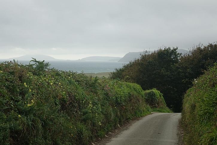 Following quiet lanes to Llanengan
