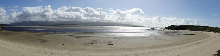 Tremadog Bay panorama