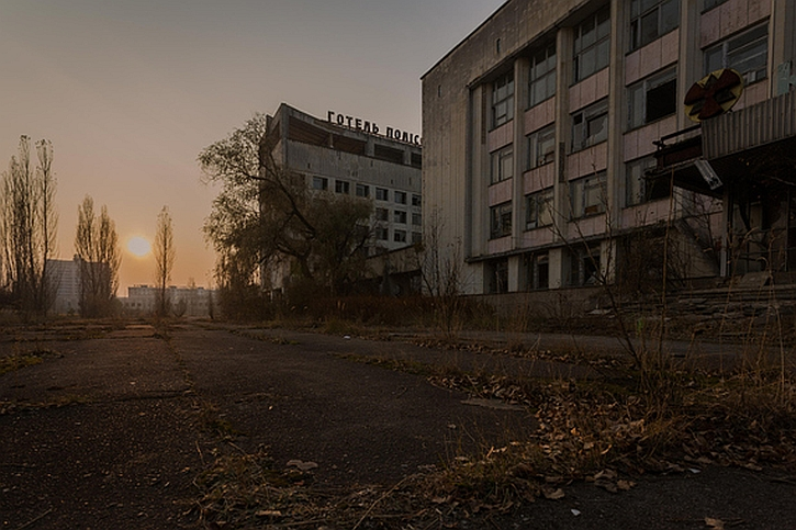 Chernobyl exclusion zone 2015 by Iain Bolton