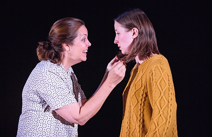 Greta Scaachi and Erin Doherty in The Glass Menagerie
