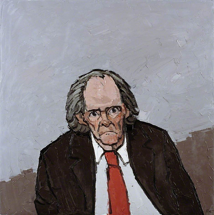 Kyffin Williams, Portrait of RS Thomas