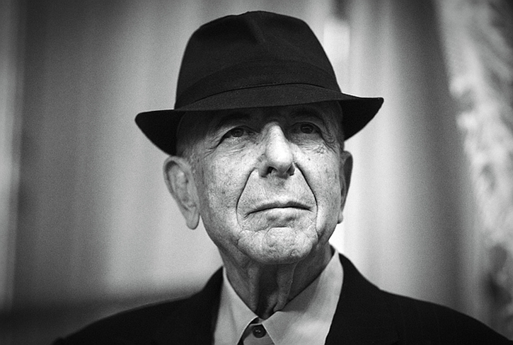 Leonard Cohen, that 'lazy bastard in a suit'
