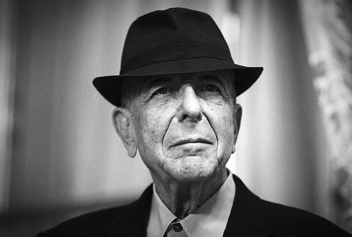 Leonard Cohen, that 'lazy bastard in a suit'