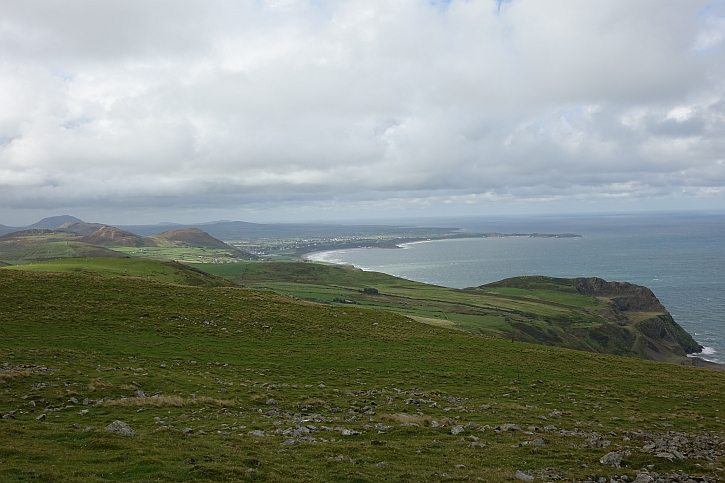 Looking southwest across Nefyn bay