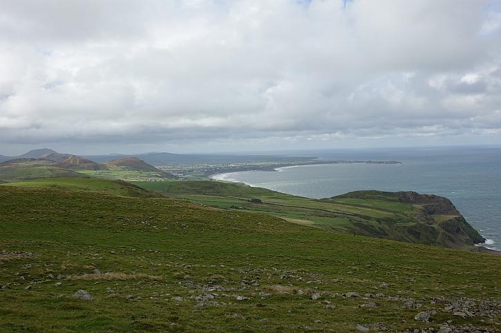 Looking southwest across Nefyn bay