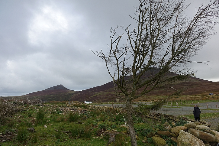 Battered by winds: the peaks of Yr Eifl