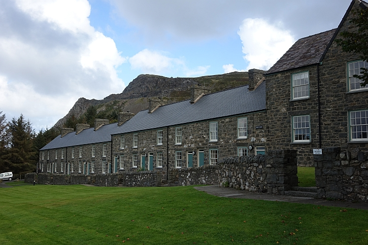 Renovated cottages at Nant