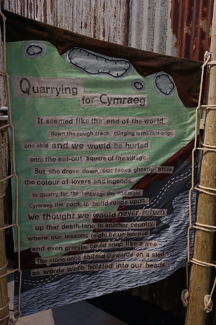 Quarrying for Cymraeg by Mike Jenkins