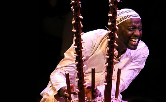 Seckou Keita in the Phil's new MusicRoom