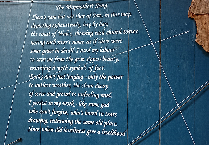 The Mapmaker's Song by Gwyneth Lewis