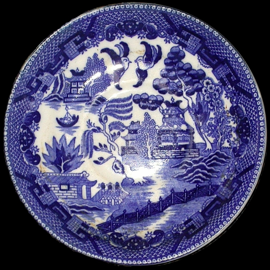 Willow pattern by Thomas Minton
