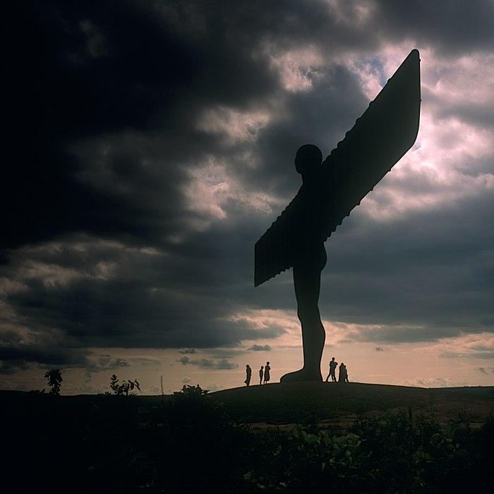 Antony Gormley, Angel of the North, 1998