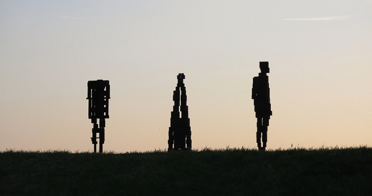 Antony Gormley, Human, Florence 2