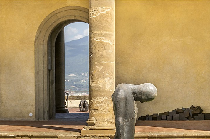 Antony Gormley, Human, Florence 3