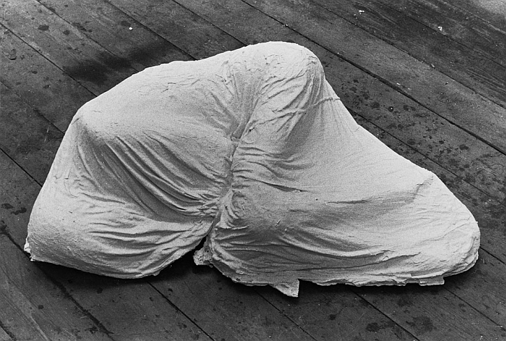 Antony Gormley, Sleeping Place, 1973