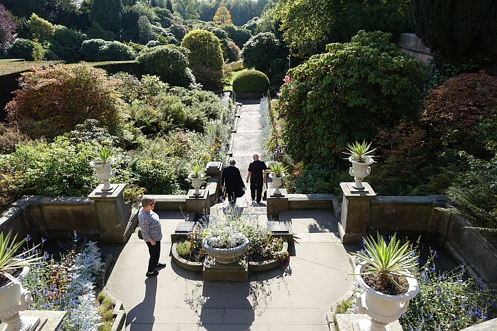 Biddulph Grange: the terrace