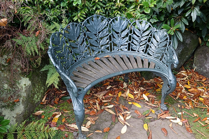 Biddulph Grange bench 2