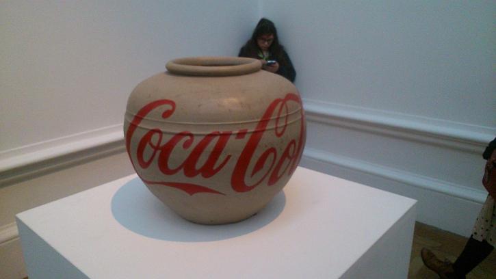 Coca Cola Vase, 2014