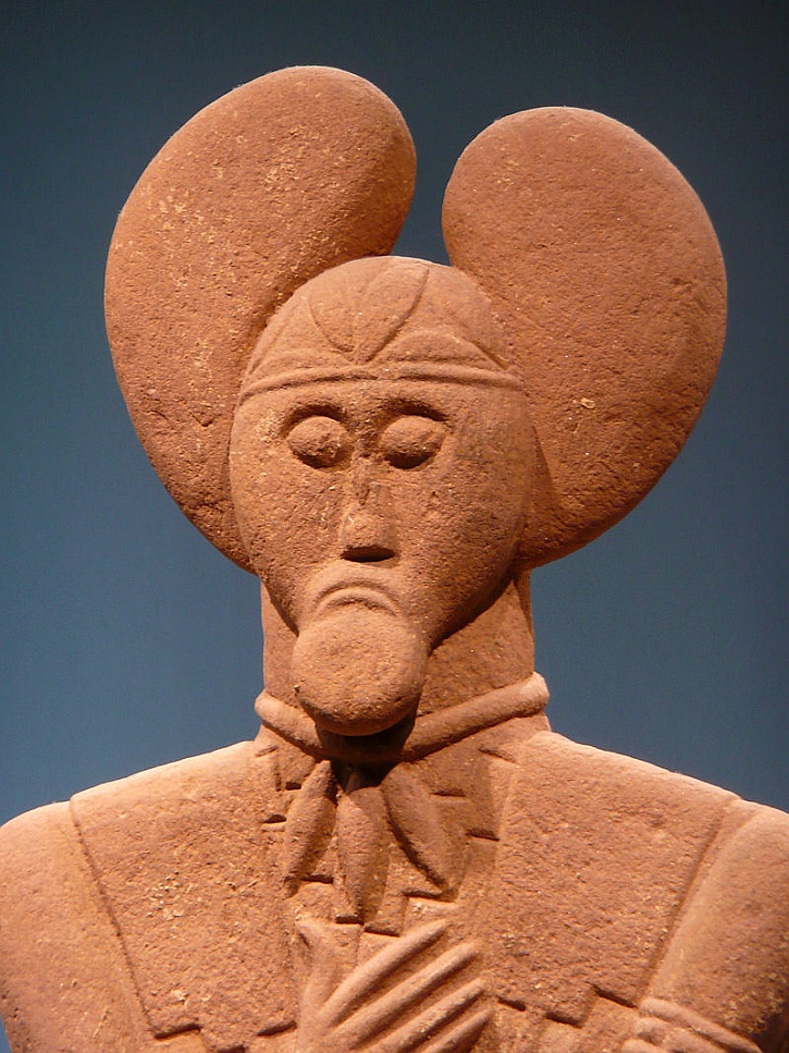 The Glauberg statue, 450-400 BC