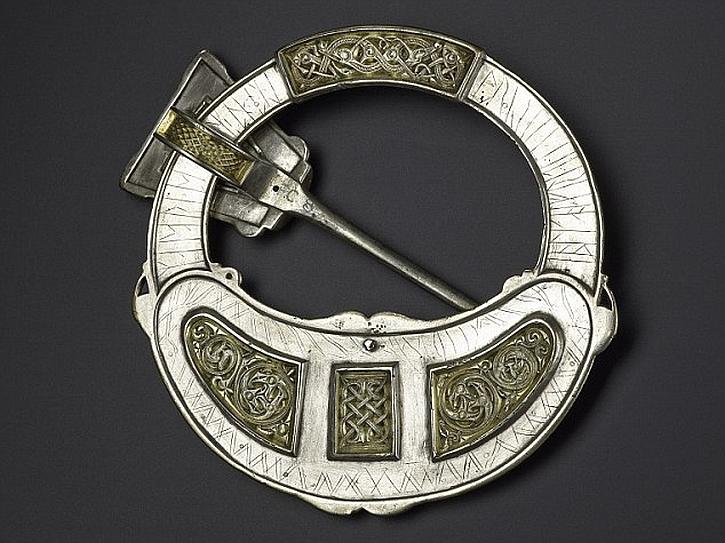 The Hunterston brooch, North Ayrshire, AD 650-750