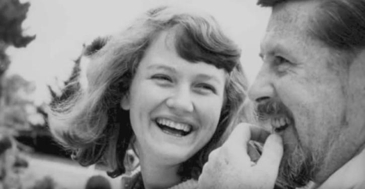 Peggy Seeger with Ewan MacColl