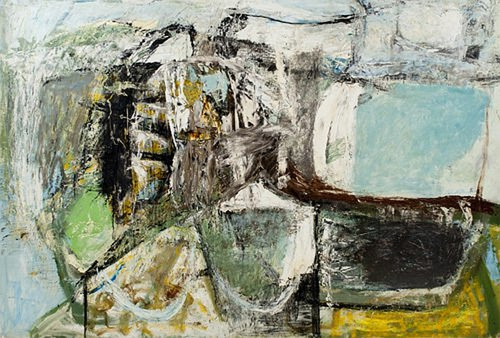 Peter Lanyon, High Ground, 1956