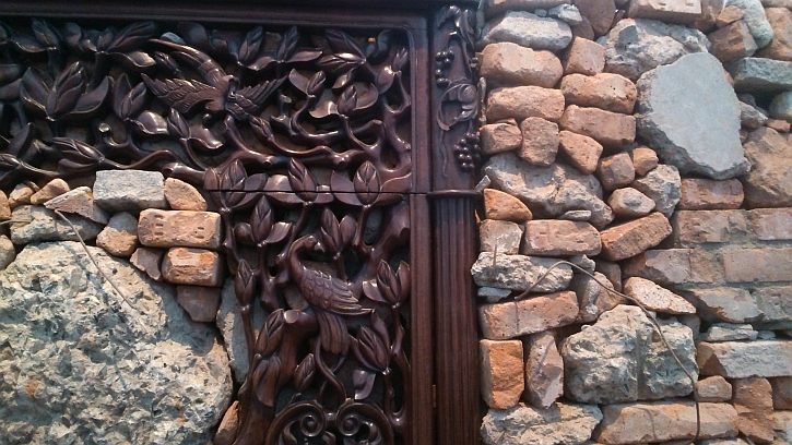 Souvenir from Shanghai detail